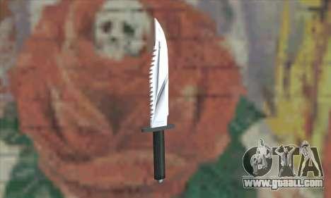 Rambo Knife for GTA San Andreas second screenshot