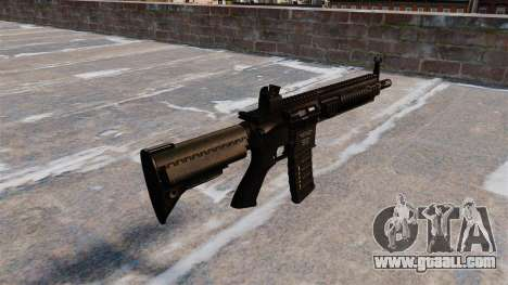 Automatic HK416 for GTA 4 second screenshot