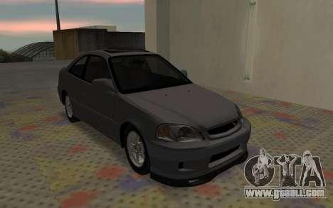 Honda Civic JDM for GTA San Andreas right view