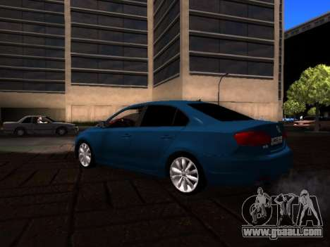 Volkswagen Jetta for GTA San Andreas back left view