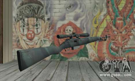 M21 from COD 4 Modern Warfare for GTA San Andreas second screenshot