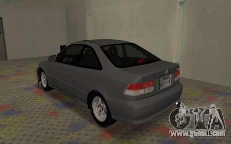 Honda Civic JDM for GTA San Andreas left view