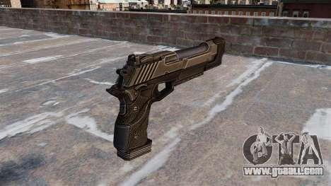 Desert Eagle pistol Crysis 2 for GTA 4 second screenshot