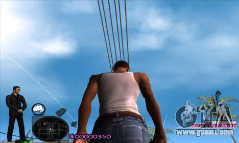 C-HUD Woozie for GTA San Andreas