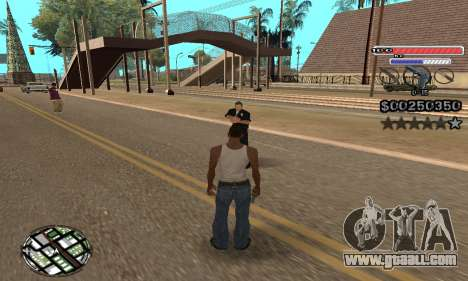 C-HUD v2 for GTA San Andreas third screenshot