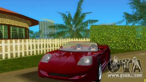 Toyota MR-S Veilside Spider for GTA Vice City left view