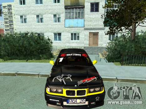 BMW M3 E36 Compact Darius Kepezinskas for GTA San Andreas left view