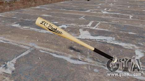 HD wood baseball bat for GTA 4