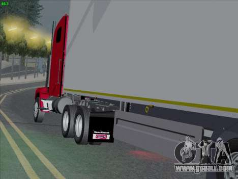 Freightliner FLD 120 for GTA San Andreas back left view