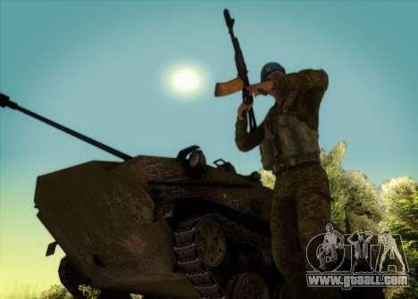 Grenadier Of Airborne Troops for GTA San Andreas fifth screenshot