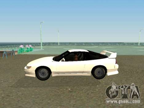 Nissan Sileighty for GTA San Andreas left view
