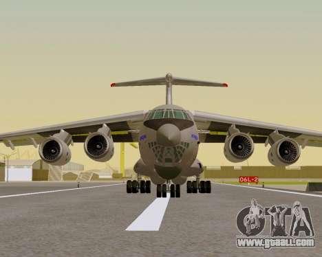 Il-76md-90 (IL-476) for GTA San Andreas right view