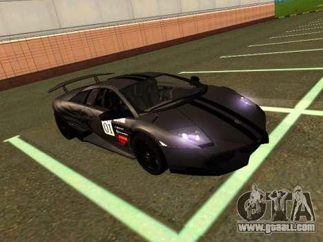 Lamborghini Murcielago LP670-4 SV Team Ravenwest for GTA San Andreas