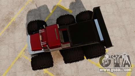The Biggest Monster Truck for GTA 4 right view