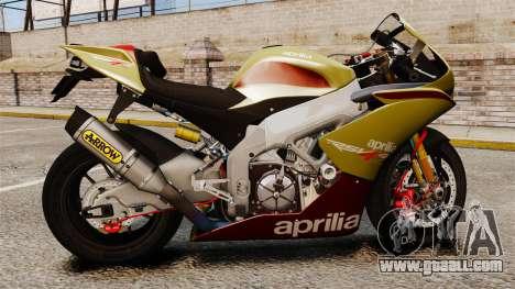 Aprilia RSV4 for GTA 4 right view
