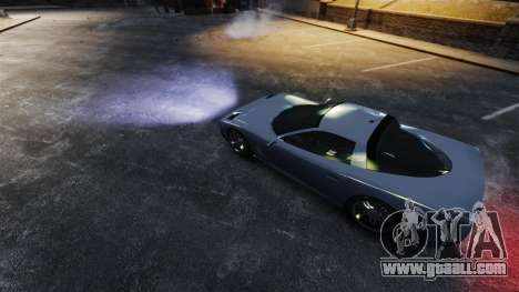 Real xenon headlights for GTA 4