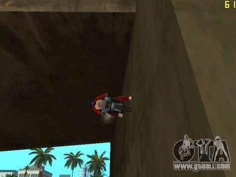 Riding on walls and ceilings v2.0. for GTA San Andreas third screenshot