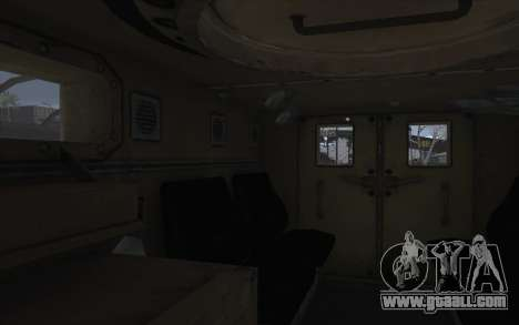 MRAP of BF4 for GTA San Andreas inner view