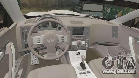 Infiniti FX45 2008 Vossen v1.1 for GTA 4 side view