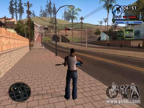 С-HUD Old Rifa for GTA San Andreas