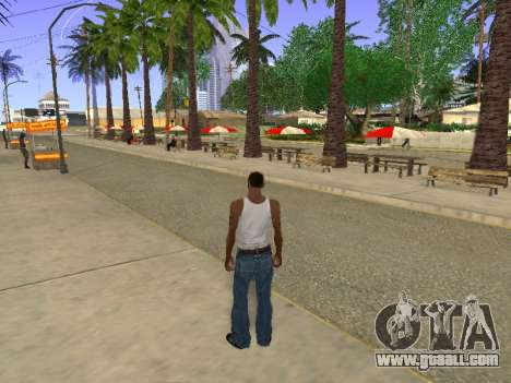 New Groove Street for GTA San Andreas second screenshot