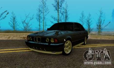 BMW M5 E34 1992 for GTA San Andreas