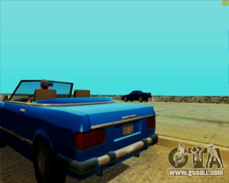 ENB HD CUDA v.2.5 for SAMP for GTA San Andreas eighth screenshot