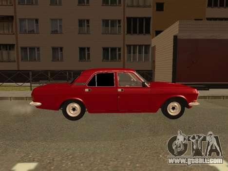 GAZ Volga 24-10 for GTA San Andreas back left view