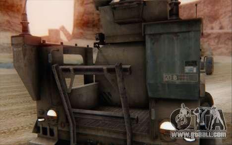 Oshkosh M-ATV for GTA San Andreas back view