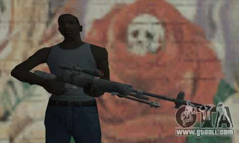 M21 from COD 4 Modern Warfare for GTA San Andreas third screenshot