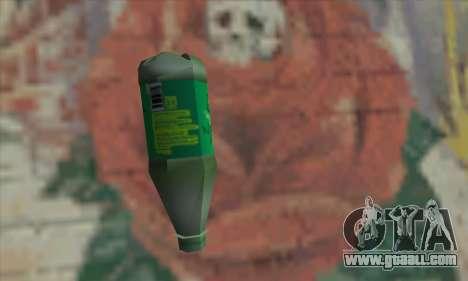 Botol Air Minum for GTA San Andreas second screenshot