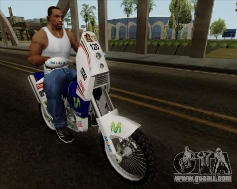 KTM 450 for GTA San Andreas