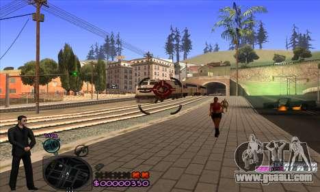 C-HUD Woozie for GTA San Andreas fifth screenshot