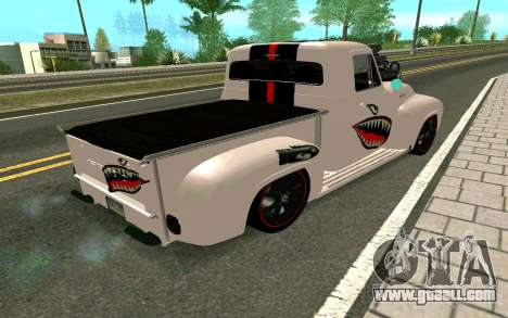 Ford FR-100 for GTA San Andreas back view
