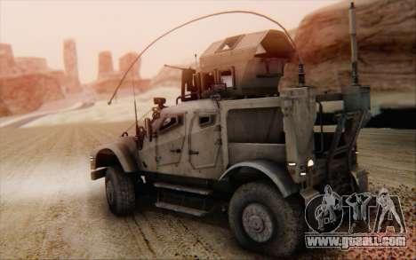 Oshkosh M-ATV for GTA San Andreas left view