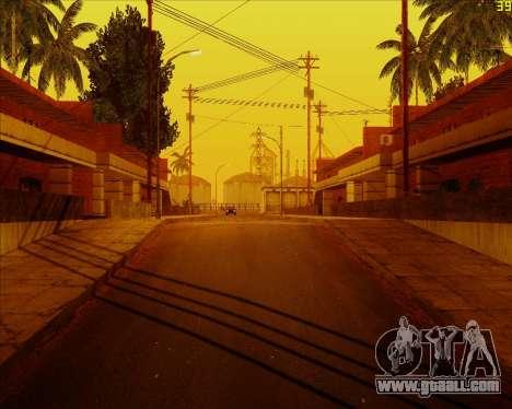 ENB HD CUDA v.2.5 for SAMP for GTA San Andreas