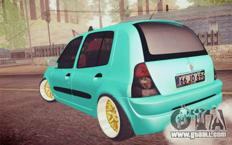 Renault Clio for GTA San Andreas left view
