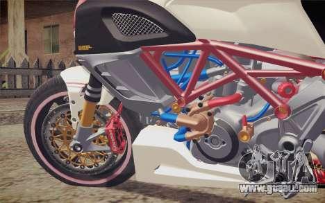 Ducati Diavel Carbon 2011 for GTA San Andreas back view