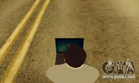 Notebook mod v1.0 for GTA San Andreas fifth screenshot