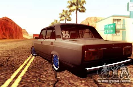 VAZ 2105 Stance for GTA San Andreas left view