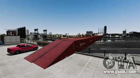 New bridge in East island city for GTA 4 forth screenshot