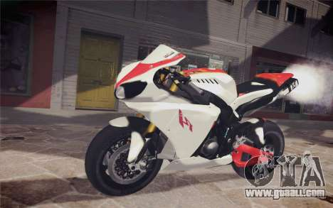 Yamaha YZF R1 for GTA San Andreas