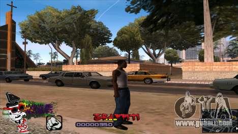 C-HUD Markus for GTA San Andreas