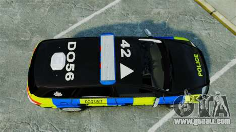 Ford Mondeo Estate Police Dog Unit [ELS] for GTA 4 right view