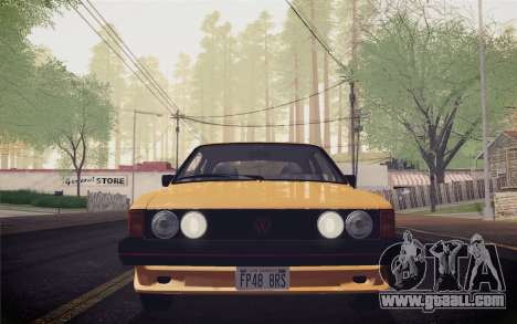 Volkswagen Scirocco S (Typ 53) 1981 IVF for GTA San Andreas inner view