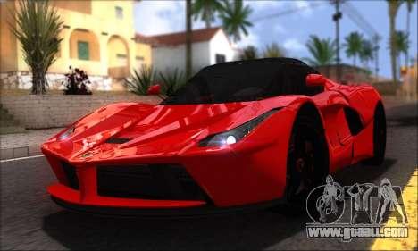 Ferrari LaFerrari v1.0 for GTA San Andreas right view