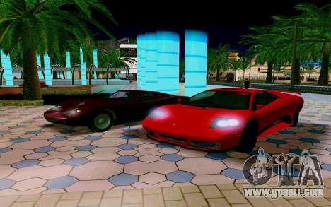 GTA V Pegassi Infernus for GTA San Andreas right view