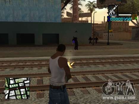 C-HUD by Adam for GTA San Andreas third screenshot