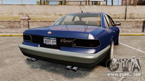 Civil Cruiser for GTA 4 back left view