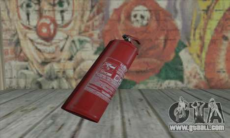 Fire extinguisher from L4D for GTA San Andreas